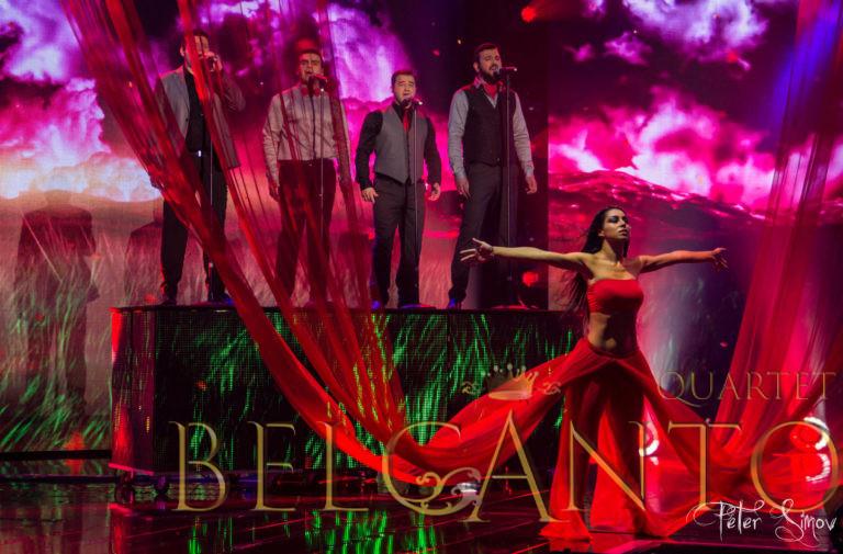 Belcanto Quartet - Ветрове - X-Factor 2015