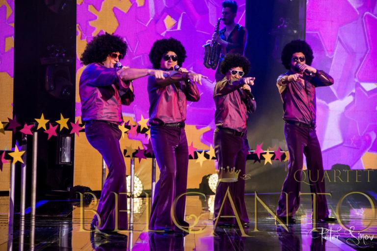 Belcanto Quartet - Y.M.C.A - X-Factor 2015