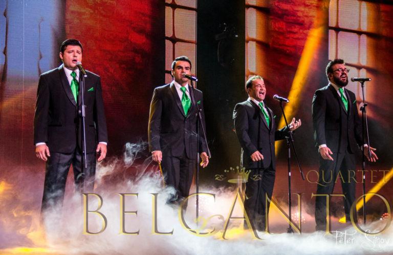 Belcanto Quartet - Caruso - X-Factor 2015